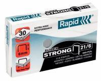 Hæfteklammer 21/6 G Super Strong 1000stk/pak