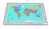 Skriveunderlag Verden 40x65 cm