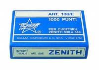 Hæfteklammer stål Zenith 130/E 1000stk/pak