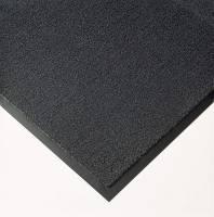 Måtte Solett 60x90cm 8mm m/kantliste PP/vinyl grå