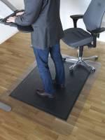 Måtte Yoga SOS 120x150cm sidde og stå 11.5mm m/skrå kant