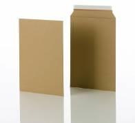 Konvolut kartonpose 4 t/A4 248x350mm brun 100stk/pak