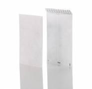 Konvolut plastfiber B4P NP 250x353mm hvid 55g 100stk/pak