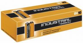 Batteri Duracell Industrial 9V 10stk/pak