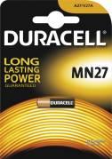 Batteri Duracell Security MN27 12V 1stk/pak