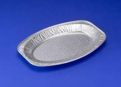 Cateringfad oval mellem 43x29x2,5cm 65180 10stk/pak