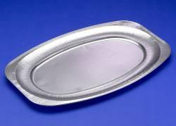 Cateringfad oval foodline 55x36x2,2cm glat stor 10stk/pak