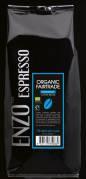 Espressobønner BKI/Enzo 1kg/ps blå label fairtrade/øko