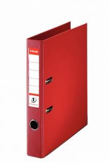 Brevordner Esselte No.1 Power rød A4 smal