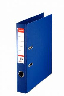 Brevordner Esselte No.1 Power blå A4 smal