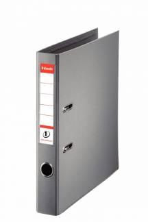 Brevordner Esselte No.1 Power grå A4 smal