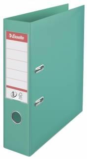 Brevordner Esselte lysgrøn A4 bred No. 1 Power