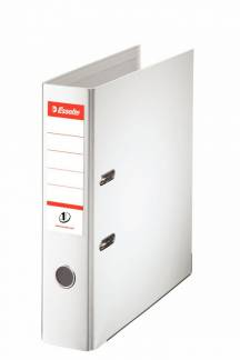 Brevordner Esselte No.1 Power hvid A4 bred