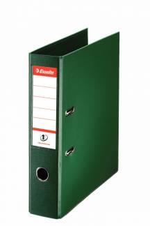 Brevordner Esselte No.1 Power grøn A4 bred