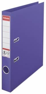 Brevordner Esselte lilla A4 smal No. 1 Power