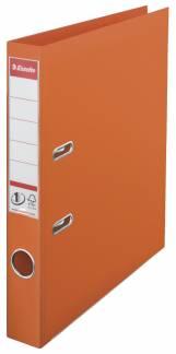 Brevordner Esselte orange A4 smal No. 1 Power