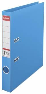 Brevordner Esselte lysblå A4 smal No. 1 Power