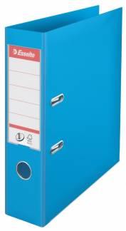 Brevordner Esselte lysblå A4 bred No. 1 Power