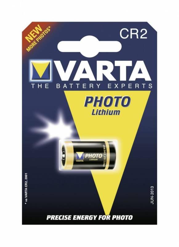 Billede af Batteri Lithium photo Varta CR 2 3,0V 920mAh 1stk/pak