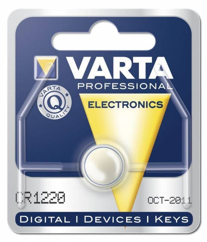 Billede af Batteri Electronic Varta CR1220 3V 35mAh 1stk/pak