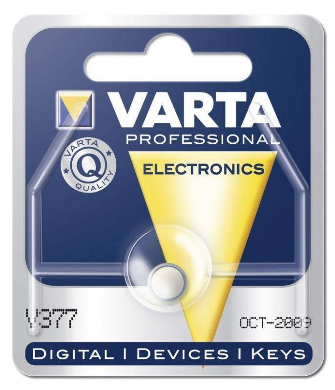 Billede af Batteri Varta ur V377 SR66 1,55V 27 mAh 1stk/pak