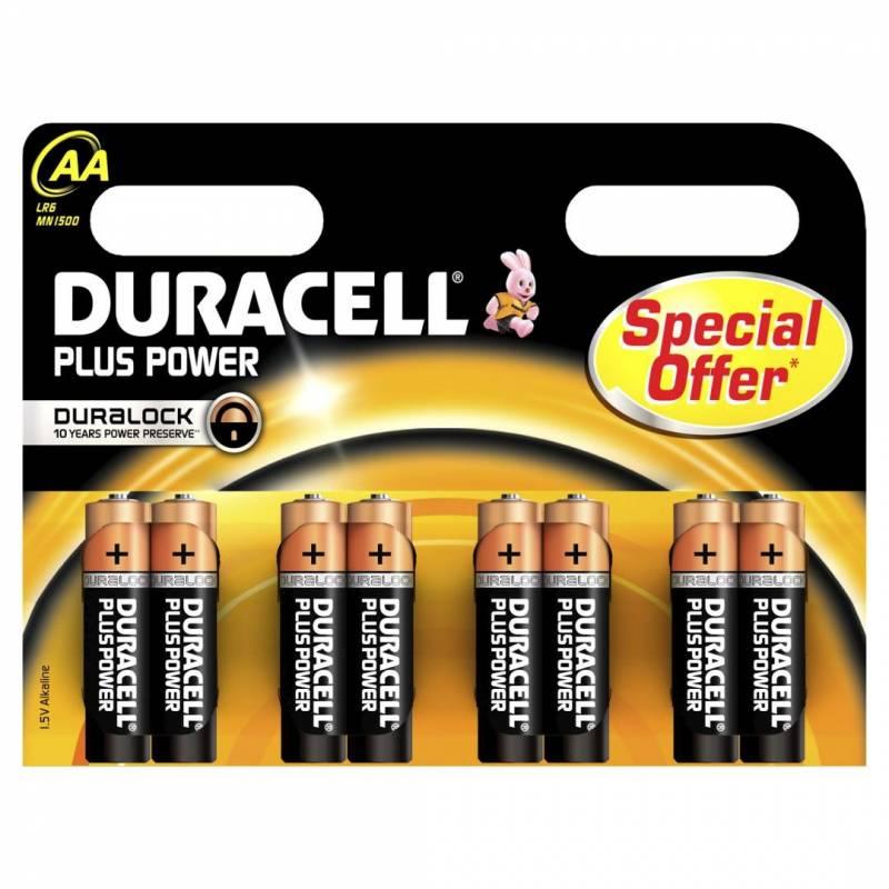 Billede af Batteri Duracell Plus Power AA 8stk/pak