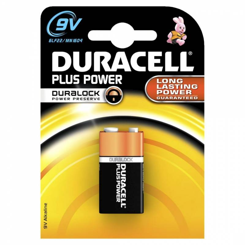 Billede af Batteri Duracell Plus Power 9V 1stk/pak