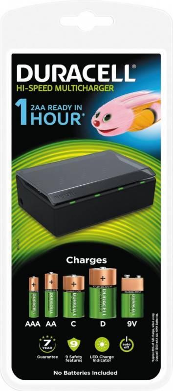 Billede af Batterilader Duracell Universallader