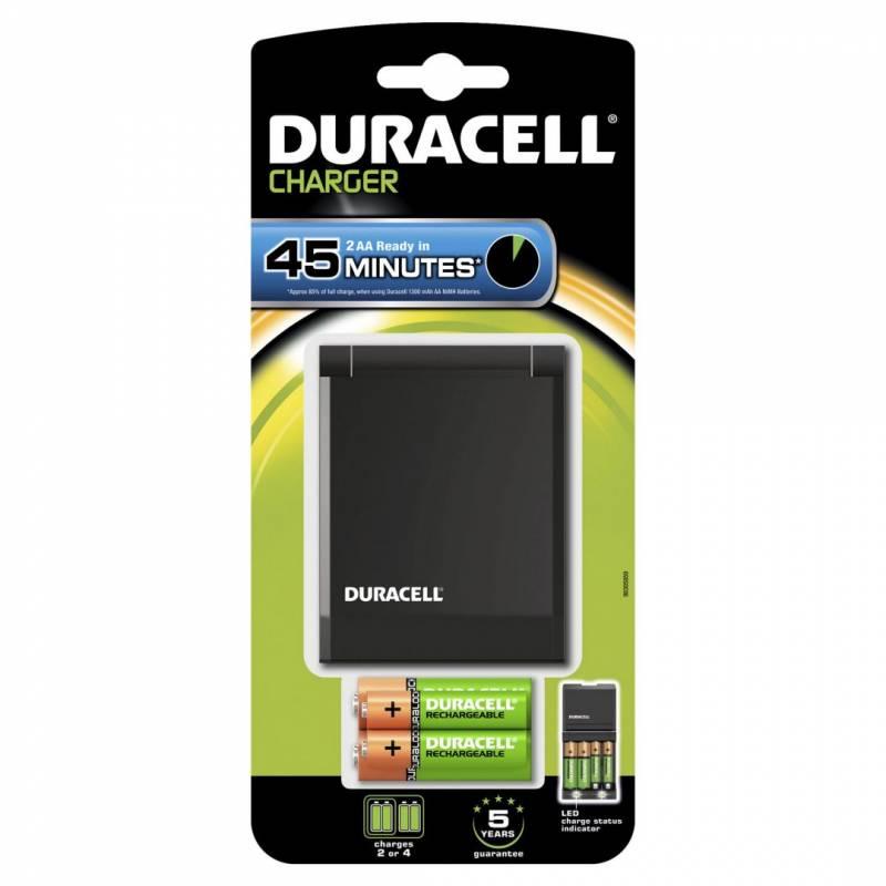 Billede af Batterilader Duracell 45 minutters oplader