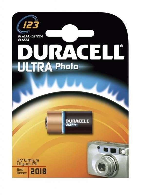 Billede af Batteri Duracell Ultra Photo 123 1stk/pak