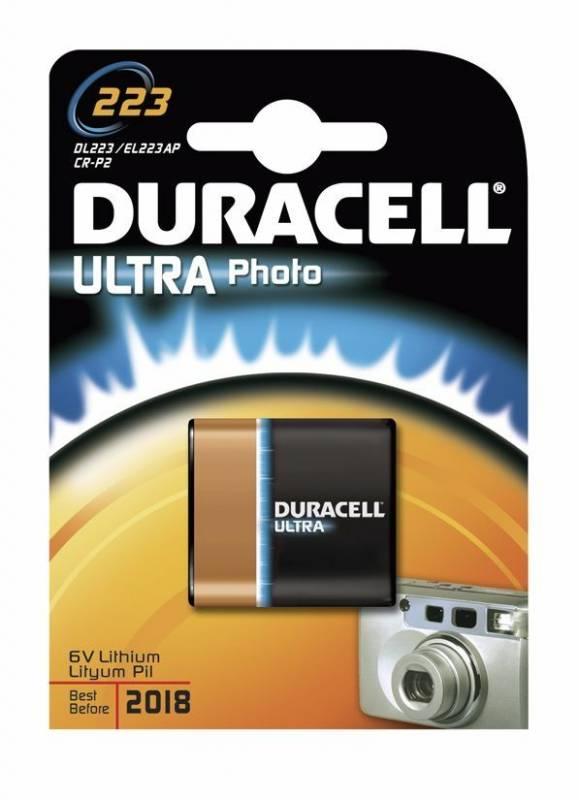 Billede af Batteri Duracell Ultra Photo 223 1stk/pak