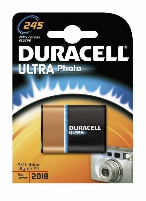 Billede af Batteri Duracell Ultra Photo 245 1stk/pak