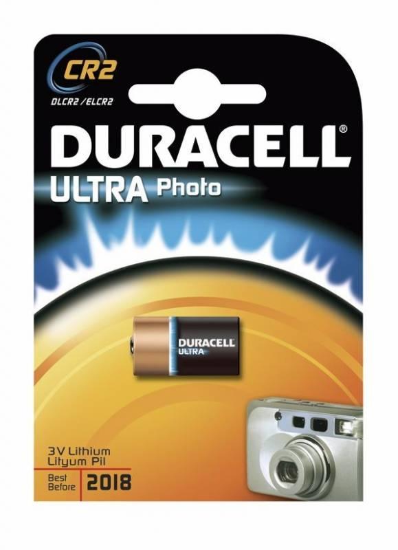 Billede af Batteri Duracell Ultra Photo CR2 1stk/pak