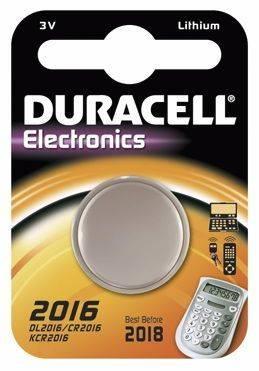 Billede af Batteri Duracell Electronics 2016 1stk/pak