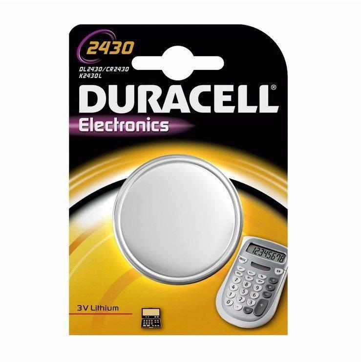 Billede af Batteri Duracell Electronics 2430 1stk/pak