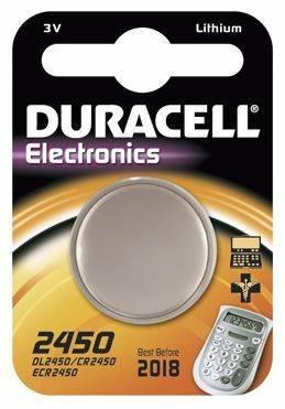 Billede af Batteri Duracell Electronics 2450 1stk/pak