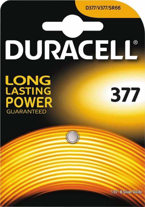 Image of   Batteri Duracell Electronics 377 1stk/pak SR66