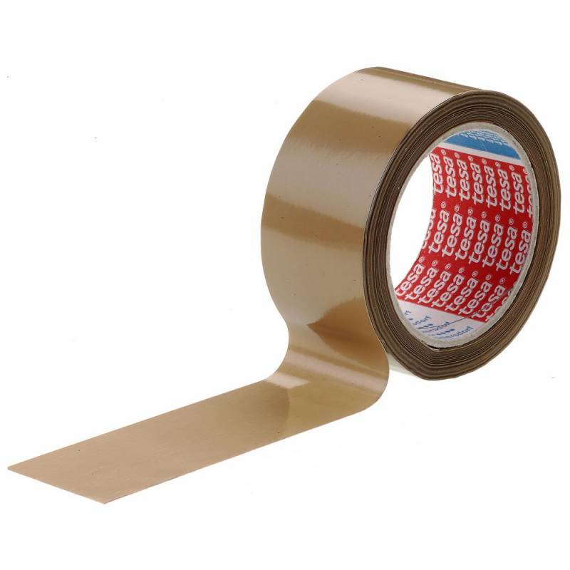 Image of   Tape tesa PVC brun 48mmx66m 4120
