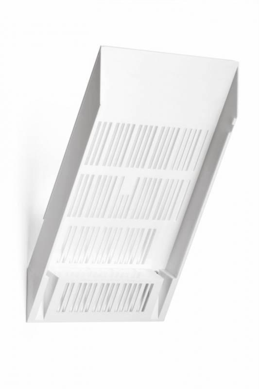 Billede af Brochureholder Flexiboxx A4 1 bakke udvidelse hvid stående