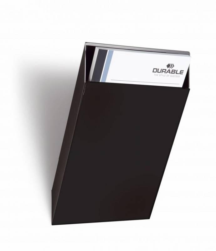 Billede af Brochureholder Flexiboxx A4 1 bakke udvidelse sort stående