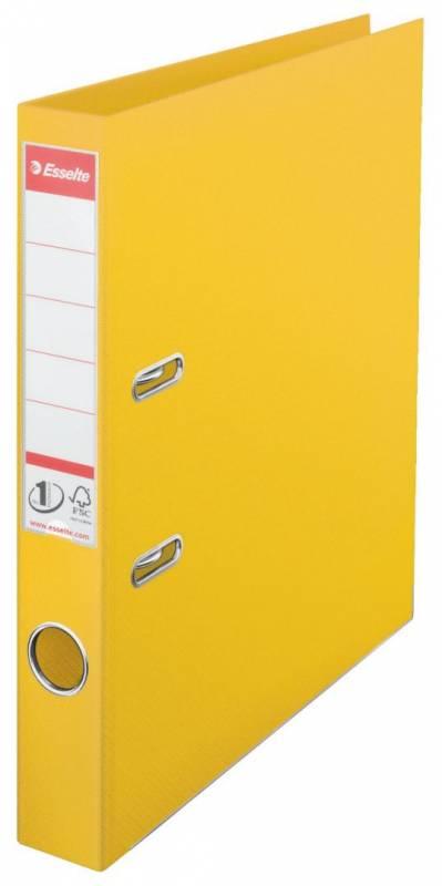 Billede af Brevordner Esselte No.1 Power gul A4 smal