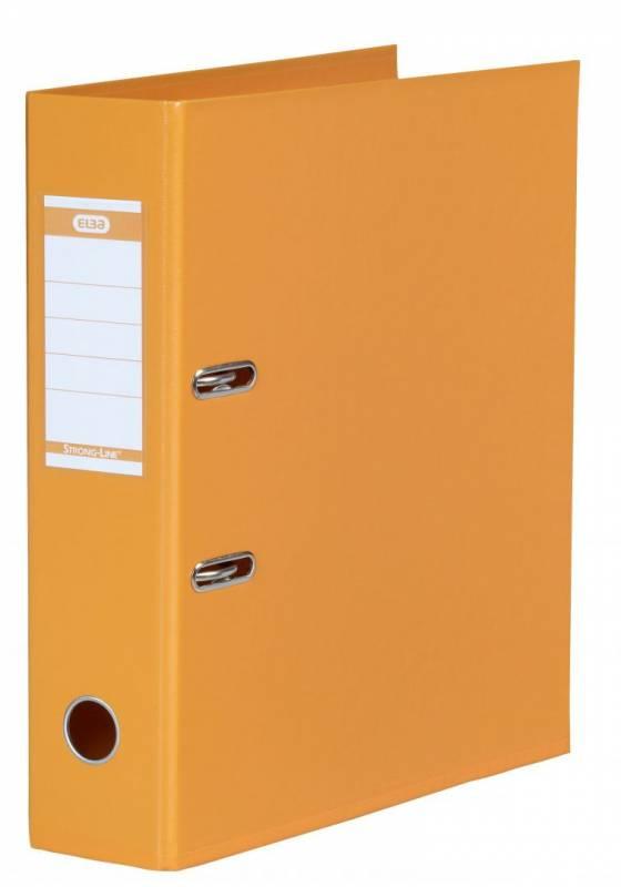 Billede af Brevordner ELBA PP A4 orange bred 1414-12