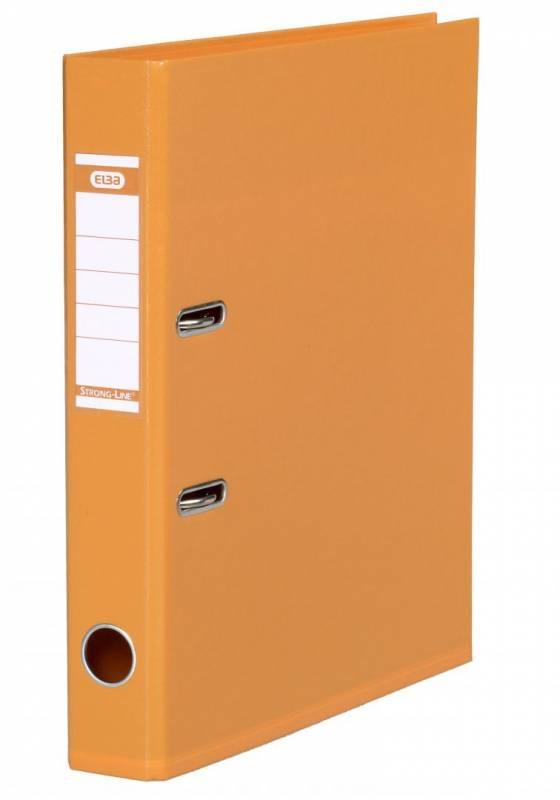 Billede af Brevordner ELBA PP A4 orange smal 1415-12