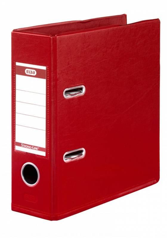 Billede af Brevordner ELBA PP A5 rød bred 1452-09