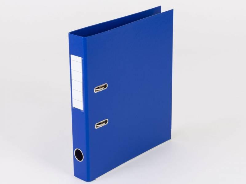 Billede af Brevordner Q-Line blå A4 metalskinne 50mm ryg