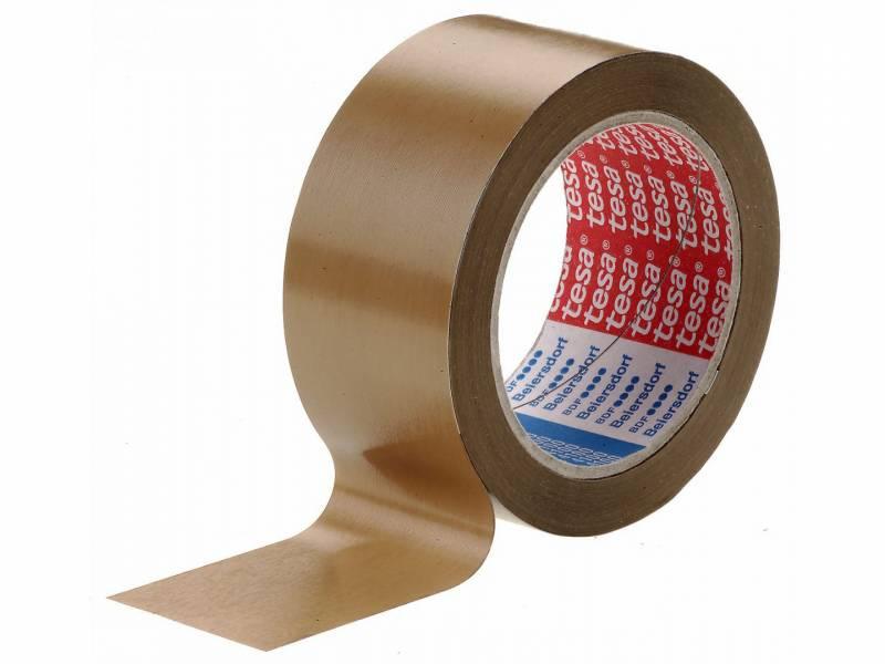 Image of   Tape tesa rillet PVC brun 48mmx66m 4100