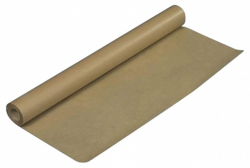 Kraftpapir brun 110cmx50m 65g