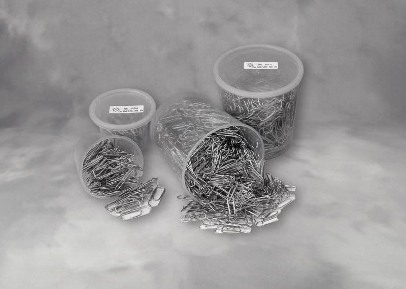 Billede af Clips Esselte 33mm i plastdåse 500stk/pak 30711