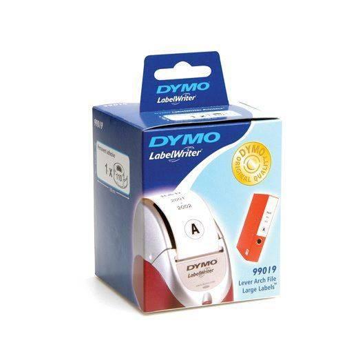 Billede af Etiketter X-store DYMO hvid 59x190mm 110stk/rul 99019