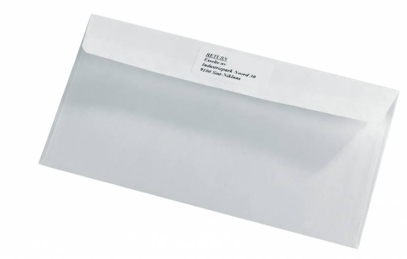 Billede af Etiketter returadresse DYMO hvide 25x54mm 500stk/rul 11352